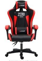 Компьютерный стул  геймерское кресло с виброподушкой (красно-черное) Zero