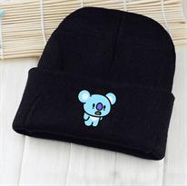 Купить Черную шапку Коя BT21 (БТ21) в Москве