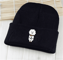 Купить черную шапку Эрджей BT21 (БТ21) в Москве