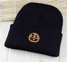 Купить черную шапку Шуки BT21 (БТ21) в Москве
