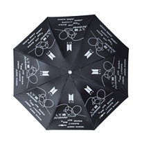 Купить Черный зонт Bangtan Boys (BTS)