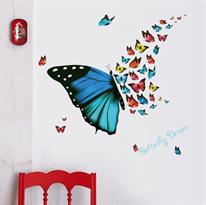 Интерьерная наклейка Бабочки Butterfly Dream купить