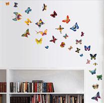 Набор интерьерных наклеек Бабочки купить в Москве
