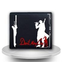 Кошелек с силуэтом Данте из игры Devil May Cry купить Москва