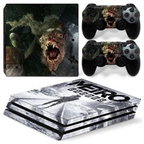 Защитная пленка для PS4 Pro Монстр из игры Метро: Исход (Metro Exodus) купить Москва