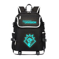 Рюкзак со светящейся надписью Tom Clancy's The Division (Цвет Черный) купить Москва