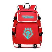 Рюкзак со светящейся надписью Tom Clancy's The Division (Цвет Красный) купить Москва