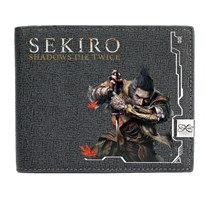 Маленький кошелек Sekiro: Shadows Die Twice (Цвет Серый) купить Москва