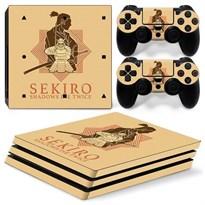 Защитная пленка для PS4 Pro Sekiro: Shadows Die Twice (Цвет Золотой) купить Москва