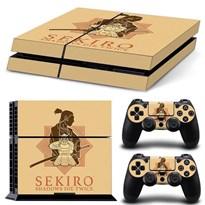 Защитная пленка для PS4 Sekiro: Shadows Die Twice (Цвет Золотой) купить Москва
