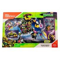 Конструктор Черепашка Трансформер (Mutant Ninja Turtles Transforming) 498 детали купить