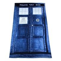 Купить Пляжное полотенце Тардис из сериала Доктор Кто (Doctor Who)