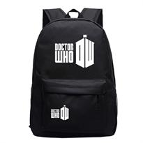 Купить Черный рюкзак Доктор Кто (Doctor Who) в Москве