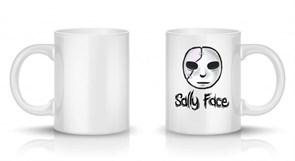 Кружка с изображением маски Салли Фейс (Sally Face) купить Москва