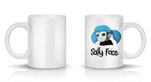 Кружка Салли Фейс в маске (Sally Face) купить Москва