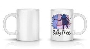 Кружка Салли Фейс в комнате (Sally Face) купить Москва