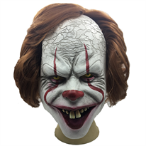"Купить Маску клоуна Пеннивайза ""Оно"" (IT) для Хэллоуина"