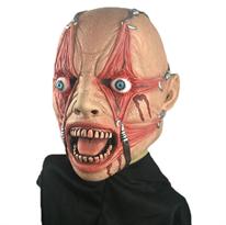 Страшная маска с крюками в веках для Хэллоуина купить