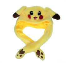 Шапка с поднимающимися ушками Пикачу (Pikachu) купить