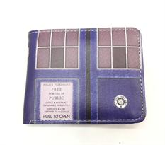 Сине-коричневый кошелек Тардис Доктор Кто (Doctor Who) купить в Москве
