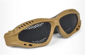 Тактические очки для игры бластерами Нерф (Nerf) песочные купить в Москве