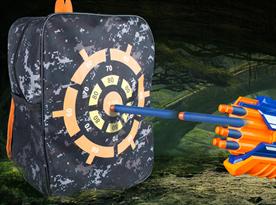 Купить Рюкзак с мишенью для стрельбы бластерами Нерф (Nerf)