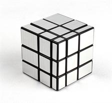 Серебристый зеркальный кубик 3 на 3