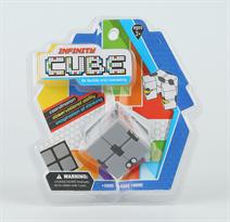 Кубик головоломка Инфинити Infinity Cube серого цвета купить в Москве