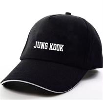 Черная кепка Jung Kook BTS (Bangtan Boys) купить в Москве