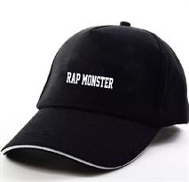 Черная кепка Rap-Monster BTS (Bangtan Boys) купить в Москве
