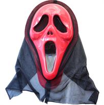 Красная маска убийцы из фильма Крик (Scream) купить в Москве