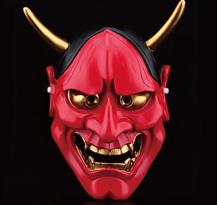 Красная маска Ханья для Хэллоуина купить в Москве