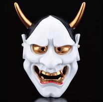 Белая маска Ханья для Хэллоуина заказать с доставкой