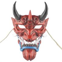 Купить красную маску японского Демона Ханья