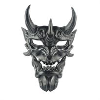 Черная маска японского Демона Ханья купить в Москве