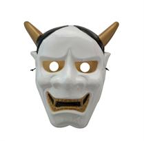 Пластиковая маска демона Хання белого цвета купить в Москве