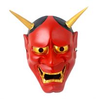 Купить красную маску Хання маленькую