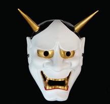 Белая маска Хання маленькая купить в Москве