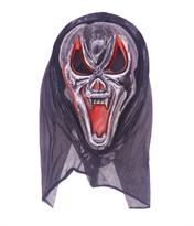 Потертая маска Крик вампир (Scream) купить в Москве