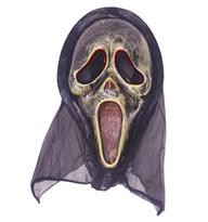 Потертая маска Крик (Scream) купить в Москве