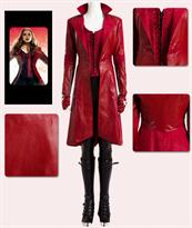 Костюм косплей Алая Ведьма (Scarlet Witch Avengers) купить