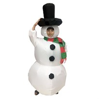Костюм детский надувной Снеговик купить Москва