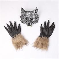 Набор из Маски волка и перчаток купить Москва