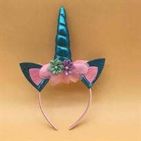 Обруч для волос Единорог (Цвет Бирюзовый) купить Москва