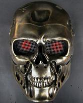 Маска Терминатора (Terminator) бронзовая купить в Москве