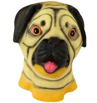 Маска собаки породы Мопс