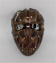 Маска Корво из Dishonored 2 бронзового цвета купить в Москве