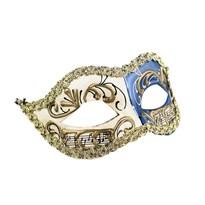Венецианская маска (Цвет Белый/Голубой) купить Москва