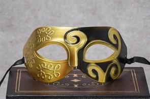 Джазовая маска Принц (Цвет Черно-золотой) купить Москва