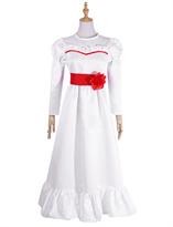 Белое платье куклы из фильма Проклятье Аннабель (Annabelle) для взрослых купить в Москве